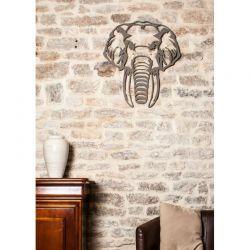 Elephant décoration murale